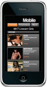 smartphone sexcam